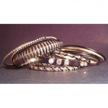 set of entique black bangles