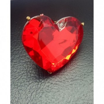 FABULOUS HEART SHAPED RED RING